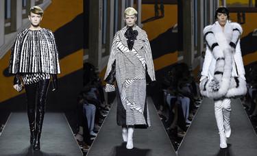 Tras 50 años de colaboración, Lagerfeld y Fendi presentan su primer desfile Couture en París