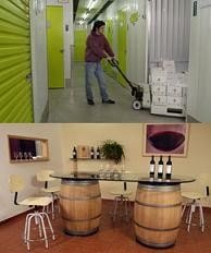 Minibodegas self-wine storage