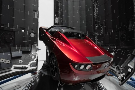Tesla Roadster Spacex 3