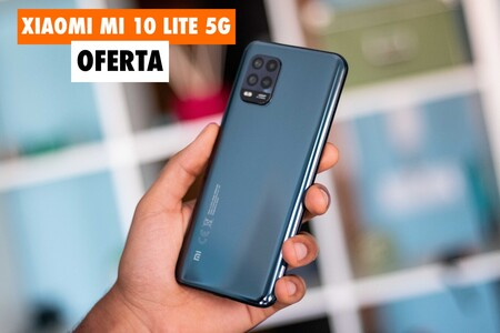 Pásate a la velocidad 5G con este Xiaomi Mi 10 Lite de 128GB rebajadísimo en El Corte Inglés: llévatelo hoy por 249,90 euros