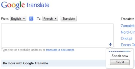 Google Translate ahora permite utilizar la voz para realizar su función