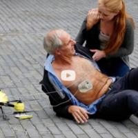 """Un drone """"ambulancia"""" para salvar vidas, desfibrilador incluido"""