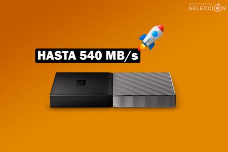 Velocidades de vértigo con el SSD My Passport Portable de 512 GB, rebajado en Amazon a su precio mínimo histórico de 59,93 euros