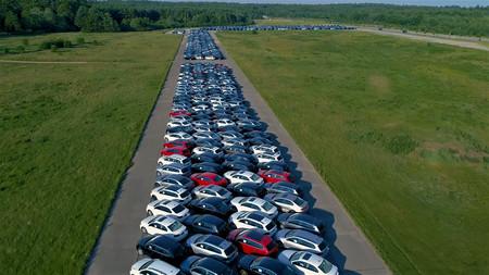 Coches Diesel Volkswagen Aparcados