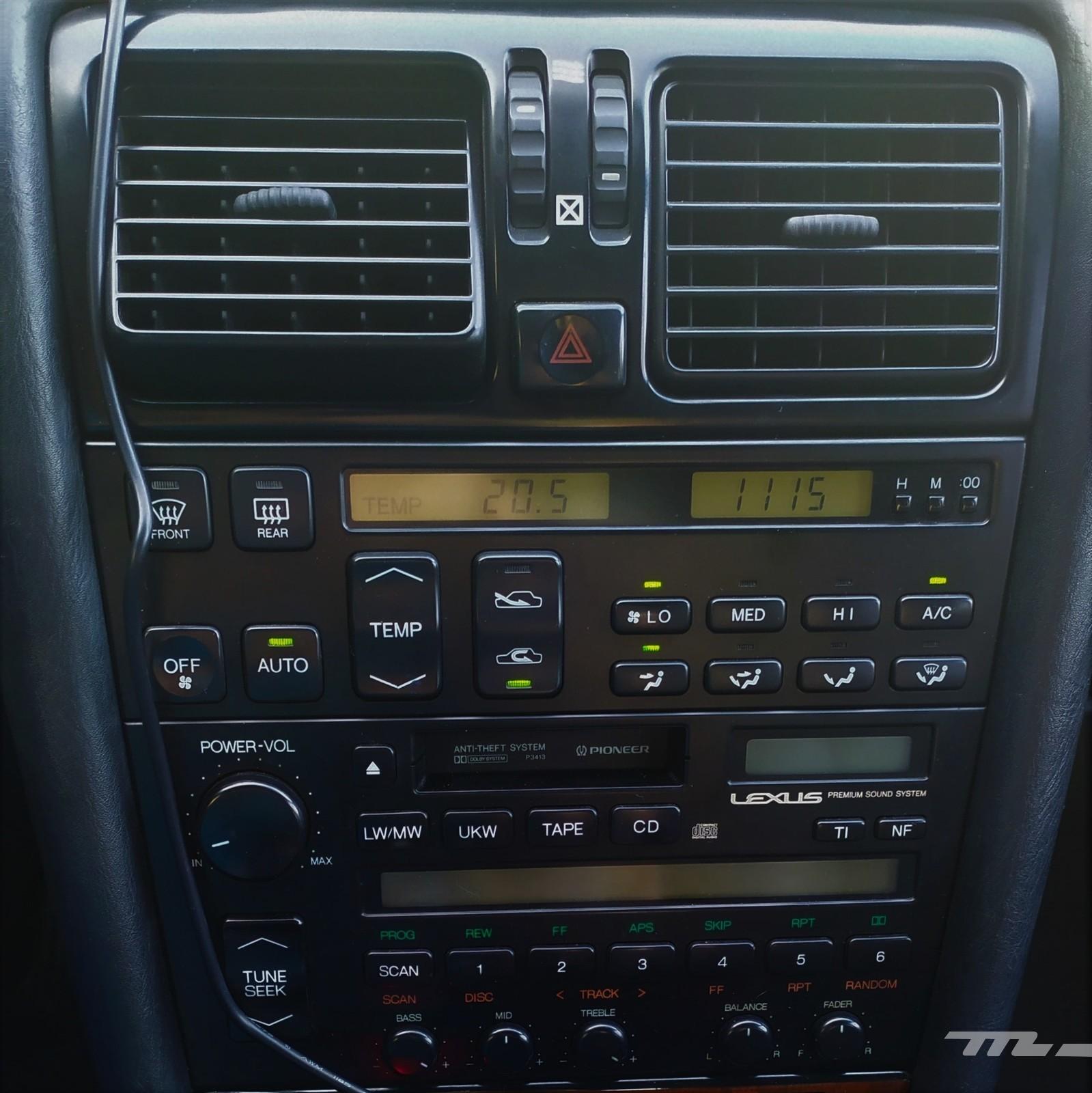 Foto de Lexus LS 400 (1989) (5/11)