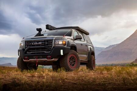 GMC Canyon AT4 OVRLANDX Off-Road Concept, el vehículo todoterreno que más que preparado para la aventura