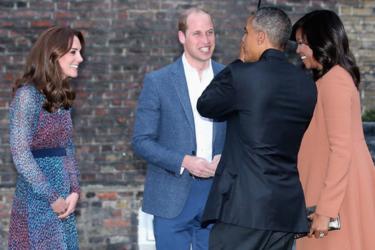 Michelle Obama y Kate Middleton se baten en duelo (de estilo) en el Palacio de Kensington