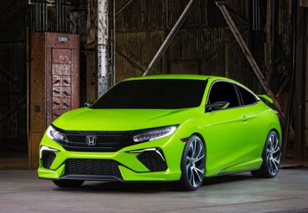 Honda Civic Concept, viene del futuro y dice que habrá Type R para América