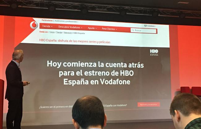 Cuenta atrás para la llegada de HBO® a Vodafone