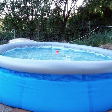 Tras la fiebre del papel higiénico y de la levadura, llega el turno de las piscinas hinchables