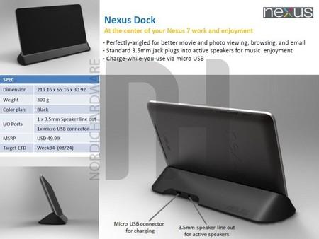 Ya podemos conocer los accesorios de Asus para la Nexus 7