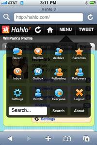 Hahlo 3 completa aplicación para acceder a Twitter desde el iPhone
