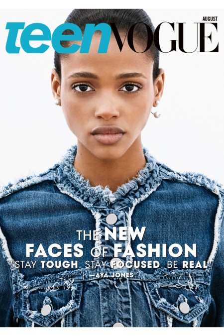 Teen Vogue Portada Agosto 2015 Lineisy Montero Imaan Hammam Aya Jones 3