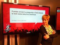 Tania Llasera ya no tiene 'La Voz' cantante