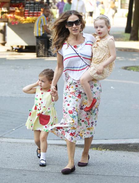Las flores maternales de Sarah Jessica Parker enamoran a la ciudad