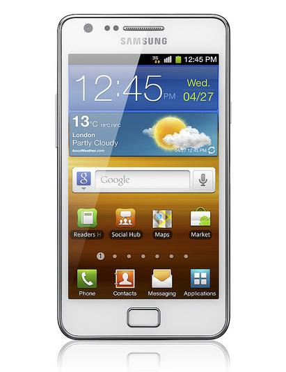Samsung Galaxy SII supera los 20 millones de unidades en 10 meses
