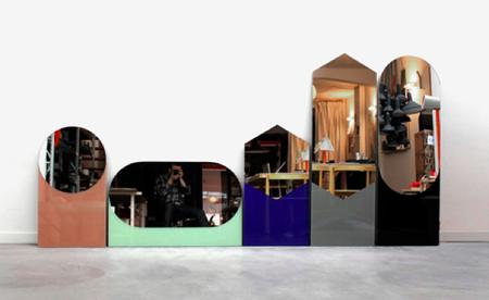 Espejos con marcos poco convencionales