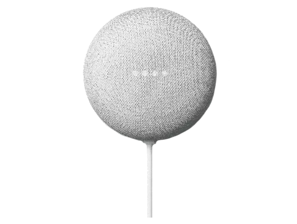 Altavoz inteligente - Google Nest Mini, 2ª generación, Chalk/Rock, Blanco