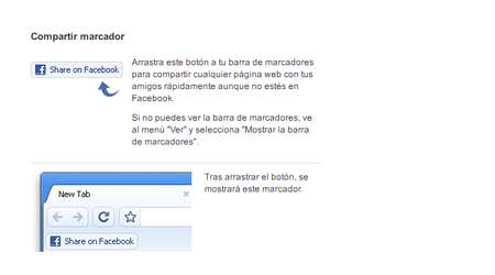 Bookmarklet Compartir Marcador
