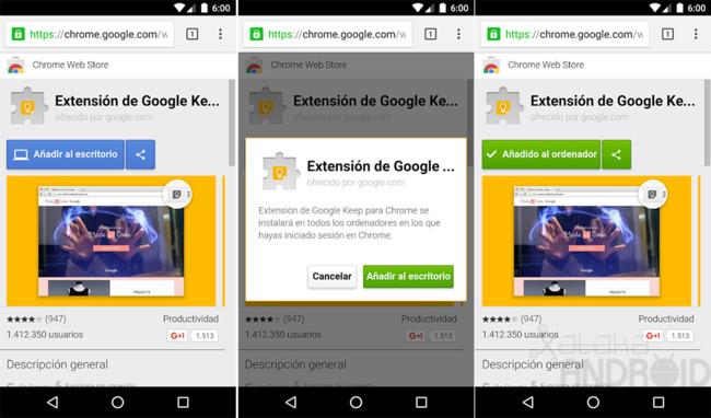 Extensiones Chrome Cap