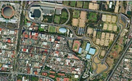 El circuito mexicano Hermanos Rodríguez cerca de la Fórmula 1