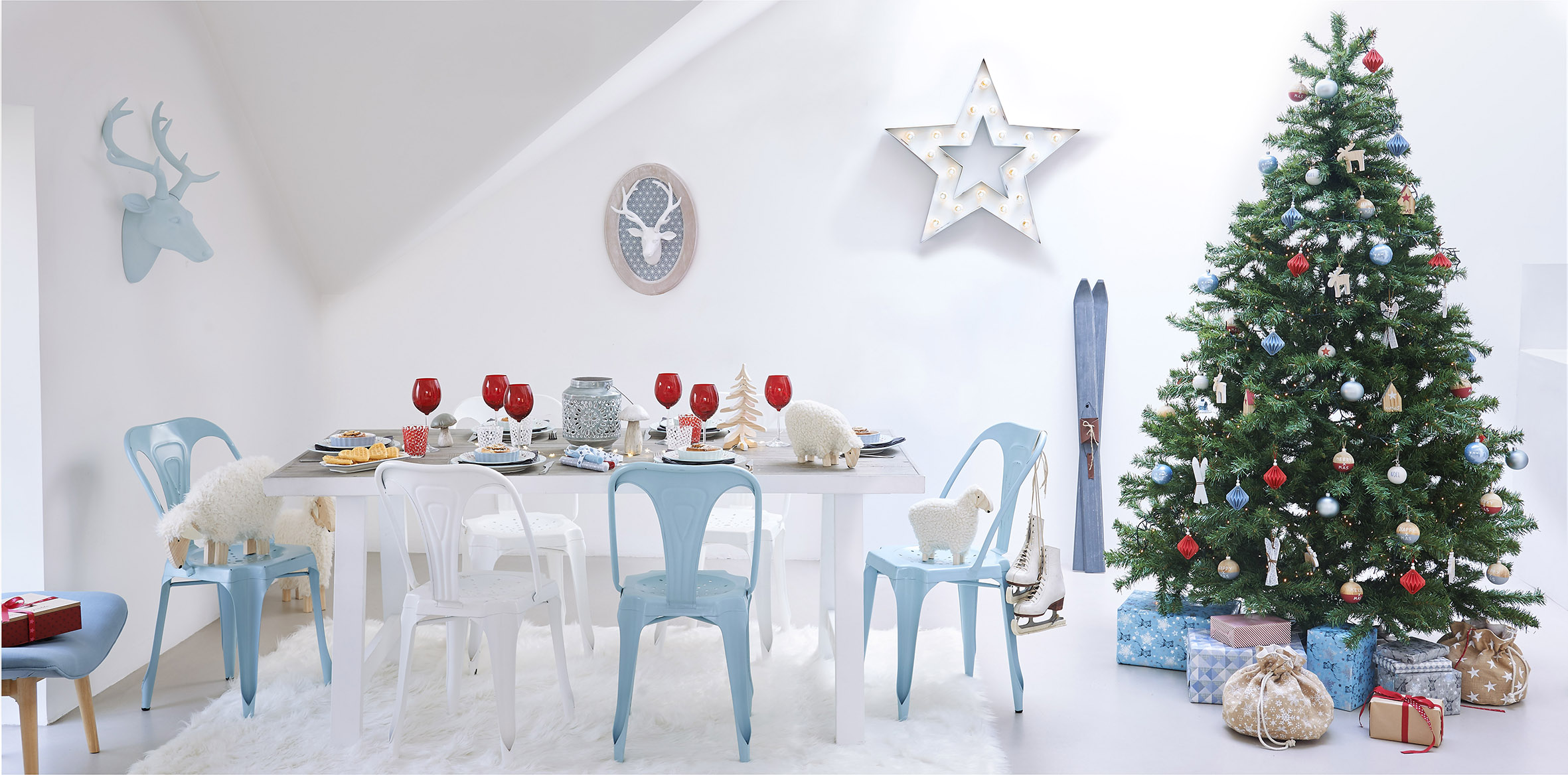 6 colecciones diferentes para decorar la navidad con for Adornos navidenos la maison du monde
