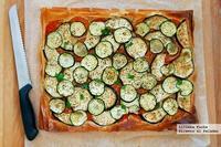Tarta fácil de verduras con masa filo. Receta
