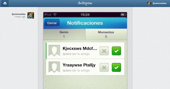 Instagram Web feed