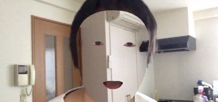 """Un desarrollador crea un camuflaje óptico para """"invisibilizar"""" su rostro con la ayuda de un iPhone X"""