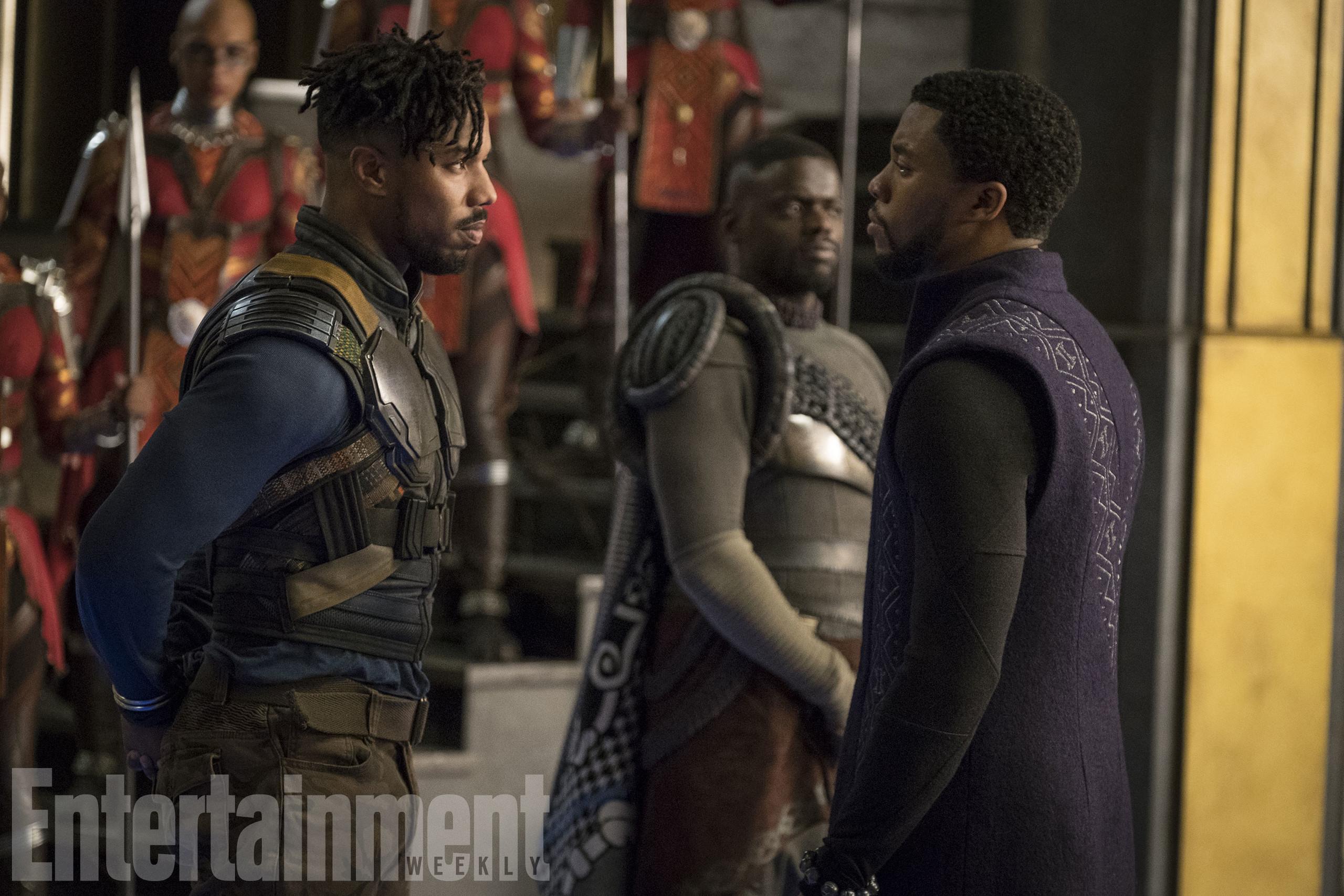 Foto de Nuevas imágenes oficiales de 'Black Panther' (8/20)