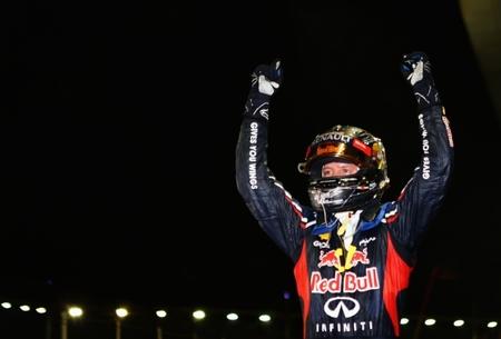 Sebastian Vettel vence en el Gran Premio de Singapur