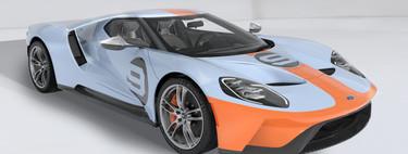 Ford GT Heritage Edition, un homenaje a los GT40 Gulf que conquistaron Le Mans hace 50 años