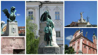 Ljubljana, la ciudad del amor y los dragones