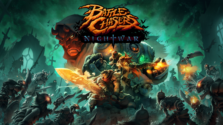 play Battle Chasers: Nightwar Joe Madureira will bring his six heroes Android