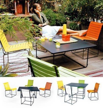 Up&Down, sillas y mesa dos en uno