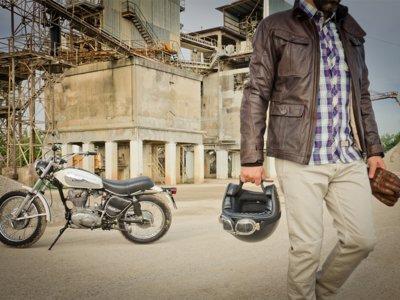 De seguridad y estilo motero: chaqueta vintage de Dainese
