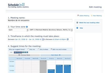 ScheduleOnce, estableciendo la mejor fecha para la celebración de un encuentro