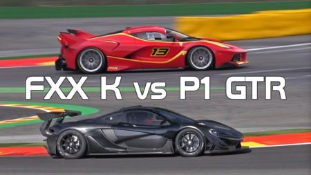 McLaren P1 GTR vs. Ferrari FXX-K - ¿Cuál motor suena mejor?