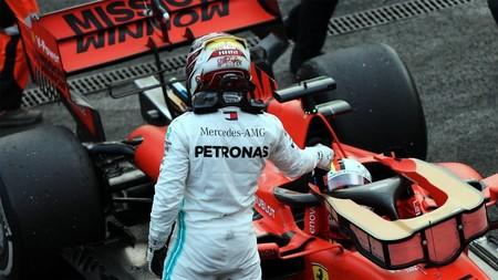 Hamilton Vettel F1 2019