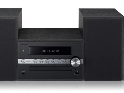 Pioneer X-CM56, una minicadena clásica con lector de CDs, Bluetooth y NFC