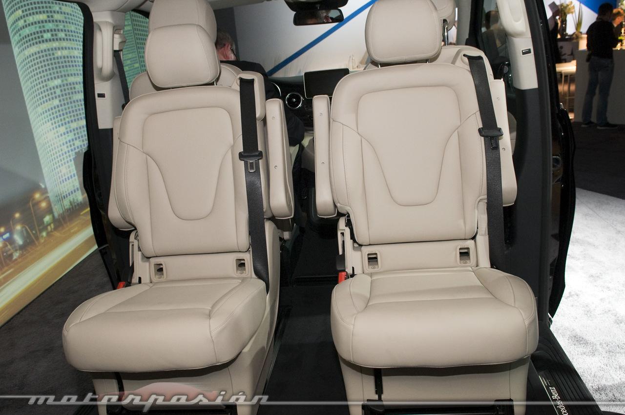 Foto de Mercedes-Benz Clase V (presentación) (10/40)