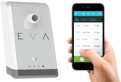 Eva quiere ser el cuantificador de tus duchas y ayudarte a ahorrar agua