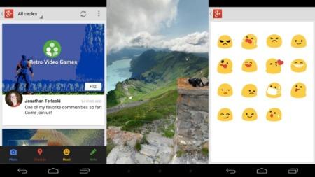 Novedades de Google+ en Android