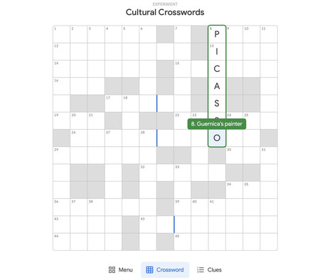 Cultural Crosswords Picasso