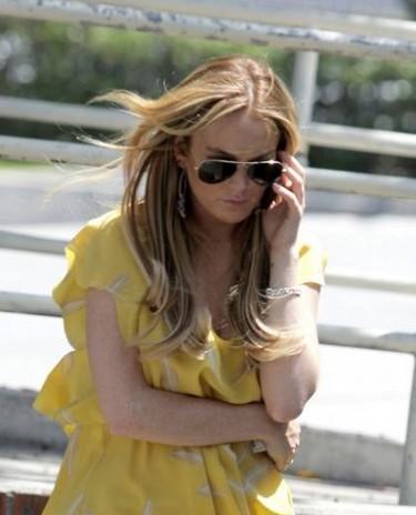 Lindsay Lohan, la productora y los paparazzi