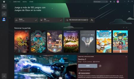 Xbox Juegos En La Nube Windows 10