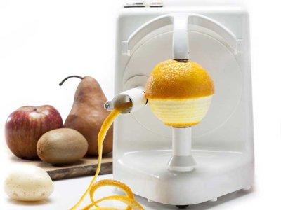 Gracias a esta máquina por fin nos podremos olvidar de la odiosa tarea de pelar frutas y verduras