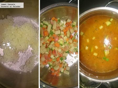Preparacion Sopa Caracol