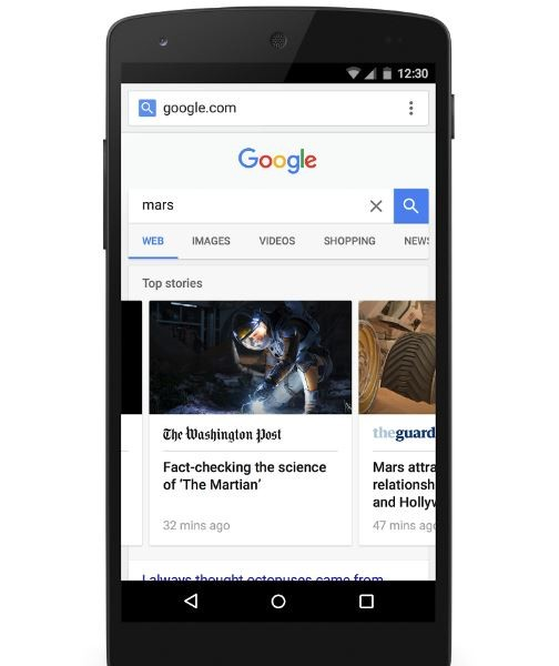 Accelerated Mobile Pages, la tecnología con la que Google quiere que la web móvil sea más rápida
