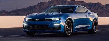 Chevrolet eCOPO Camaro Concept: la bestia de drag se convierte en coche eléctrico para el SEMA Show